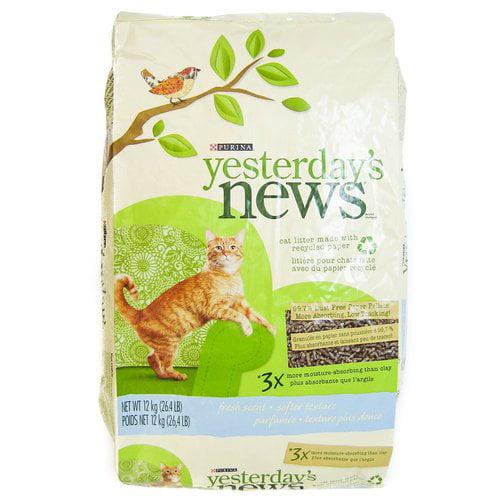 Purina Yesterdays News Paper-Based Cat Litter
