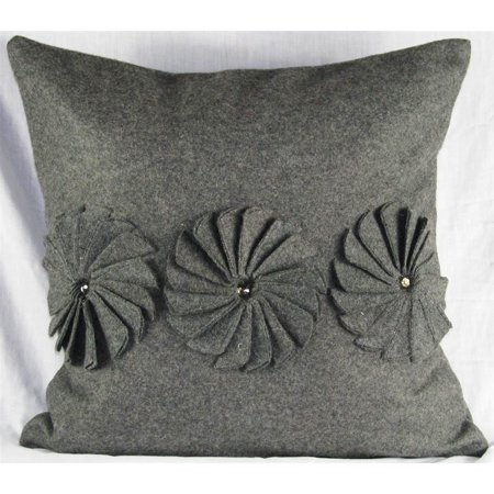 Felt Pillow Pinwheels - Felt - 20 x 20 in.