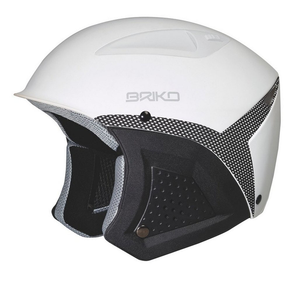 Briko Freemont Ski Helmet Matt White Carbon Size 54CM by SOGEN SPORTS INC.