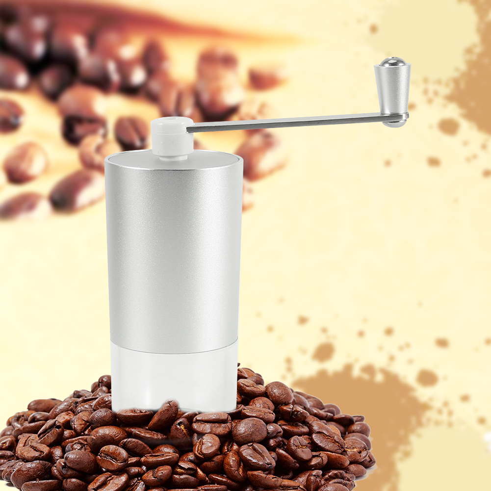 Ashata Manual Coffee Bean Espresso Spice Grinder Maker Kitchen Grinding Tool Aluminum New, Manual Coffee Grinding Tool, Coffee Maker