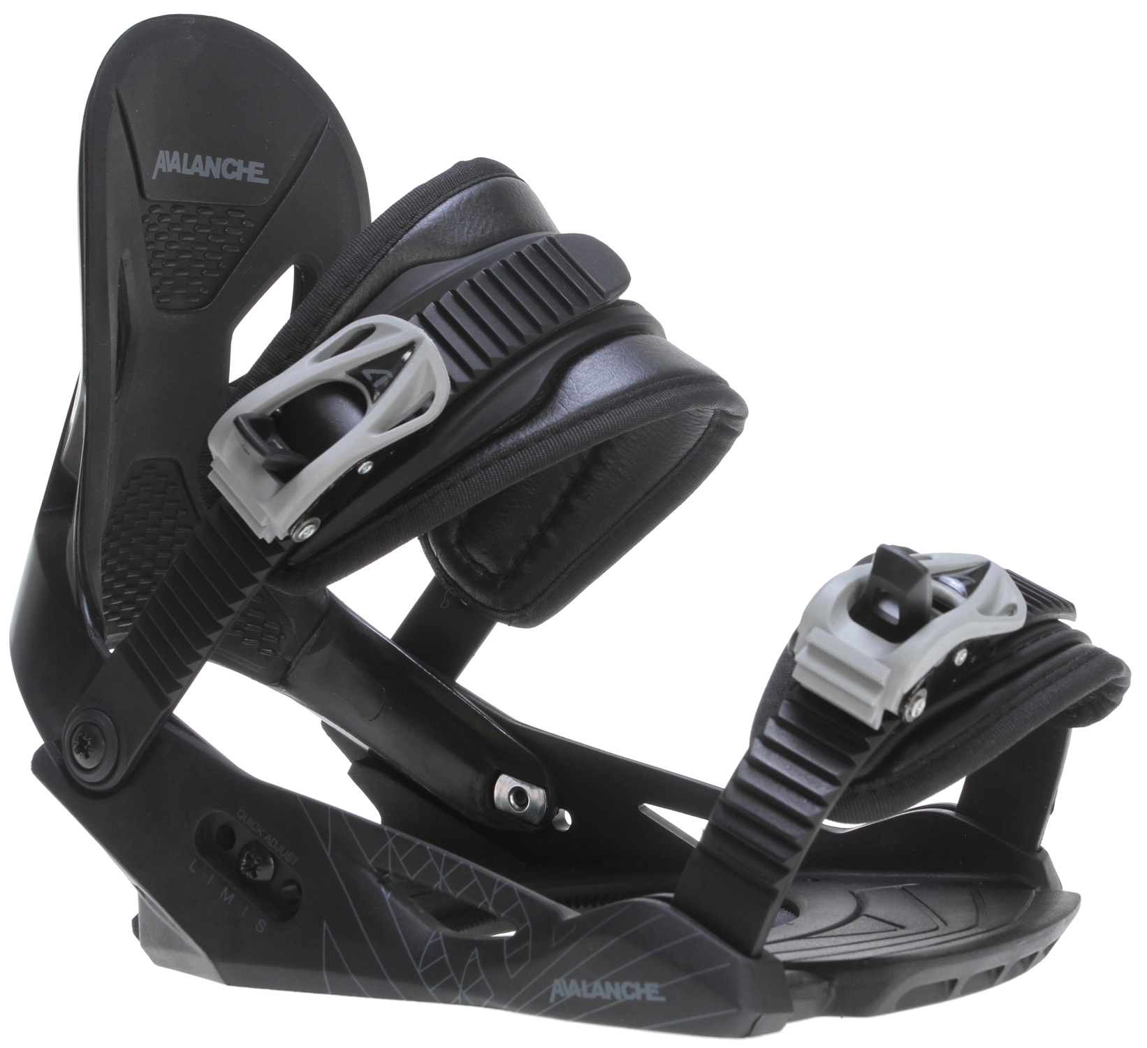 Avalanche Summit Snowboard Bindings Black Mens by Avalanche