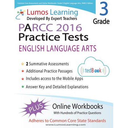 Common Core Assessments And Online Workbooks Grade 3 Language Arts