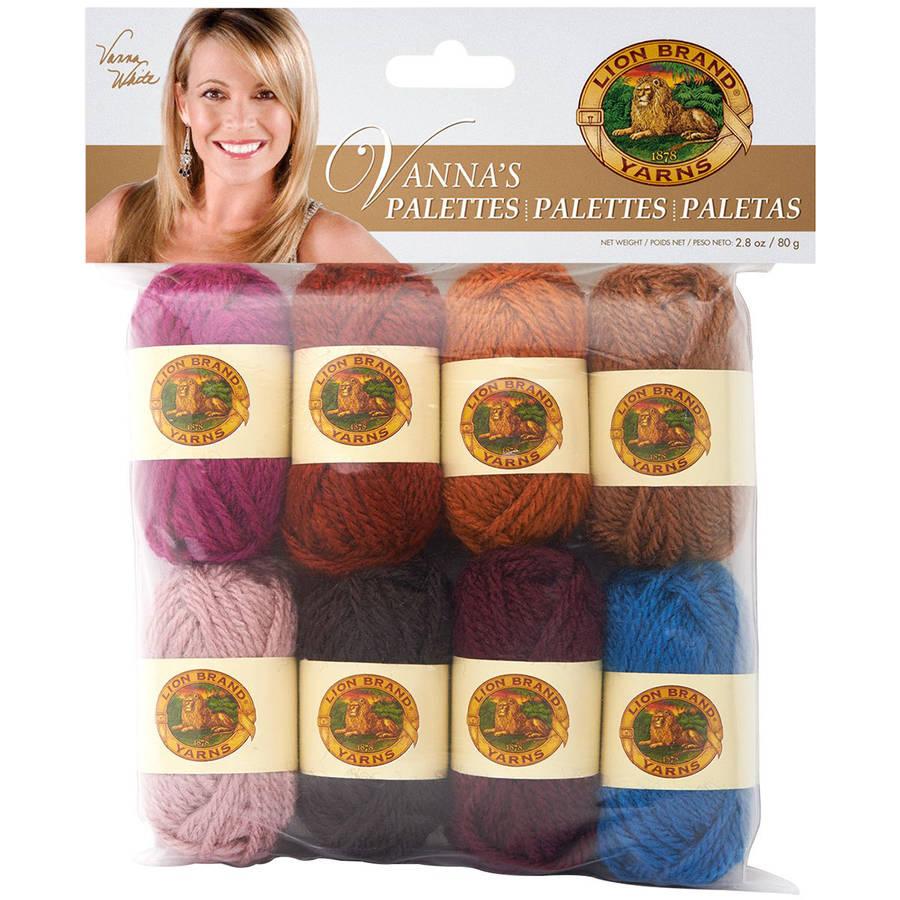 Vanna's Palette Bonbons Yarn, 8/Pkg