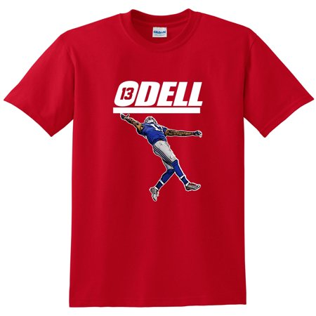 Shedd Shirts Red Odell Beckham Jr New York Giants  The Catch  Youth Medium T Shirt