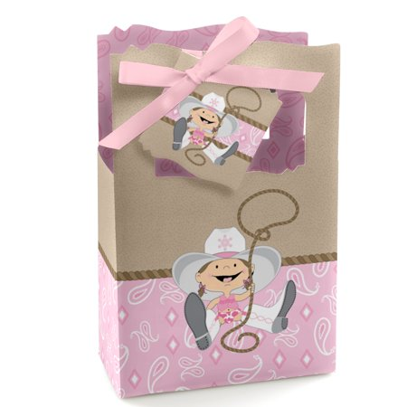 Little Cowgirl - Western Party Favor Boxes - Set of 12 - Cowgirl Party Favors