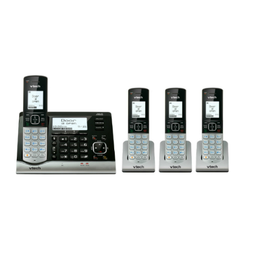 VTech VC7151 Plus 3 VC7100 Wireless Monitoring System With Cordless Telephone by VTech