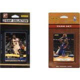 NBA Oklahoma City Thunder 2 Different Licensed Trading Card Team Sets