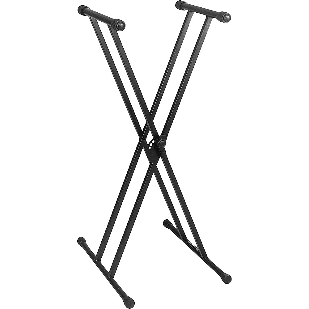 On-Stage KS7291 Pro Heavy-Duty Double-X ERGO-LOK™Keyboard Stand