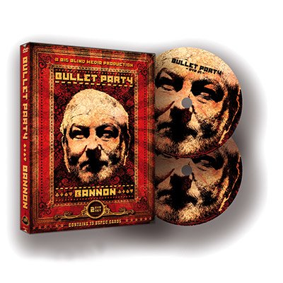 Bullet Party  2 Dvd Set  By John Bannon   Big Blind Media   Dvd
