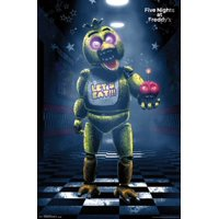 Five Nights At Freddys - Classic Chica Poster Poster Print