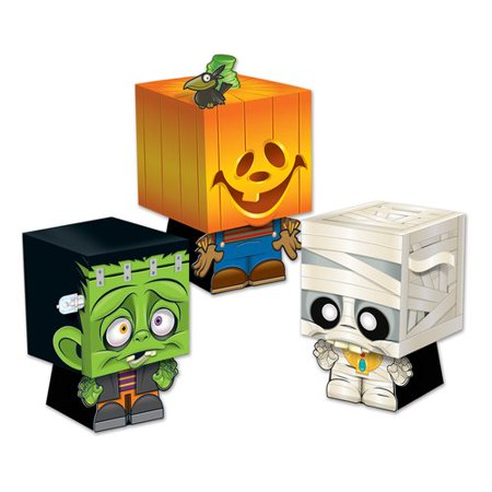 The Holiday Aisle Halloween Goody Ghoulies Favor Box (Halloween Goodies For Classroom)