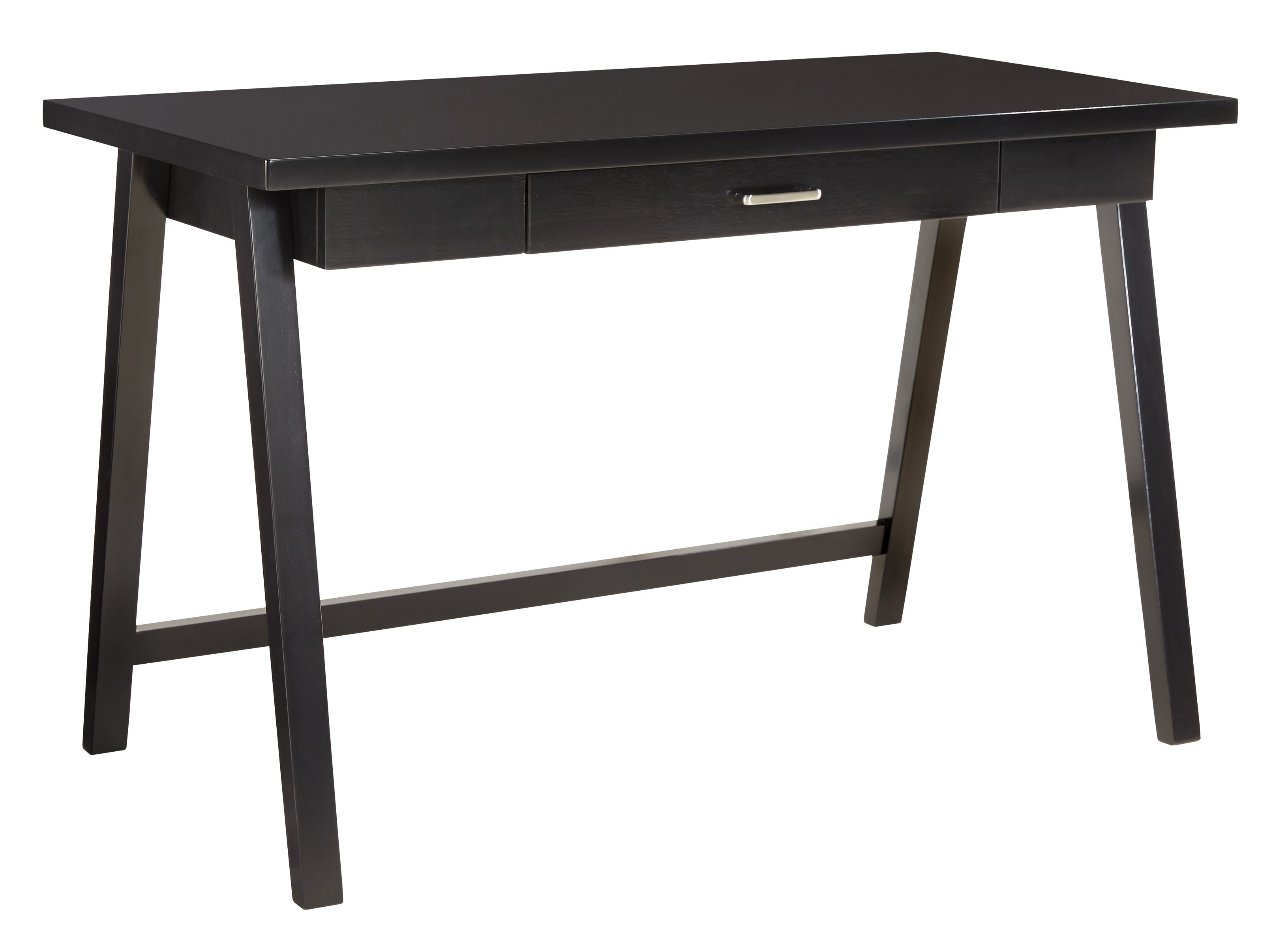 Ashley Braflin Home Office Small Desk in Black - Walmart.com