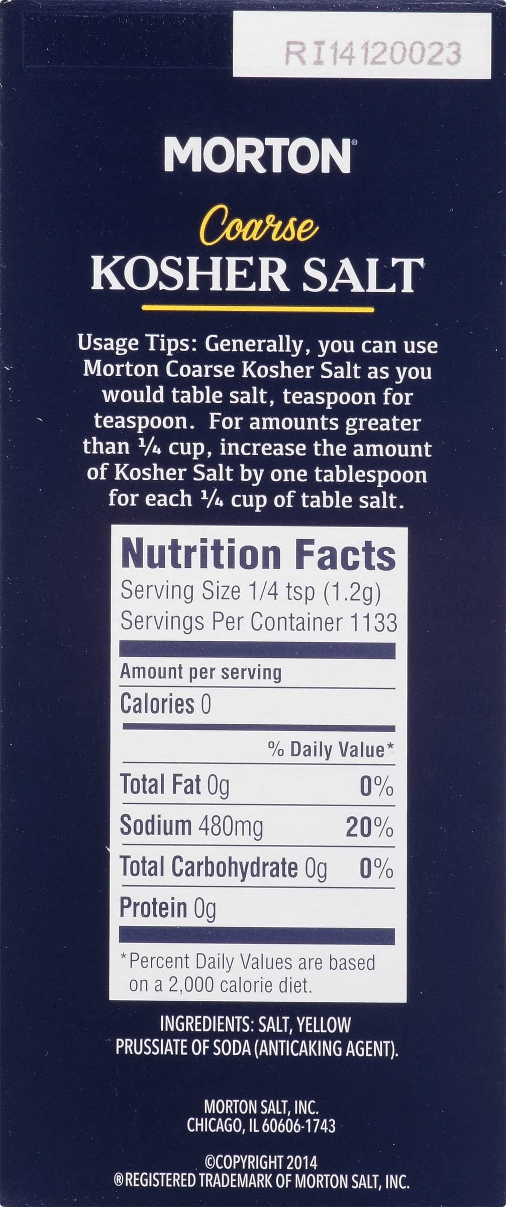 morton coarse kosher salt oz com