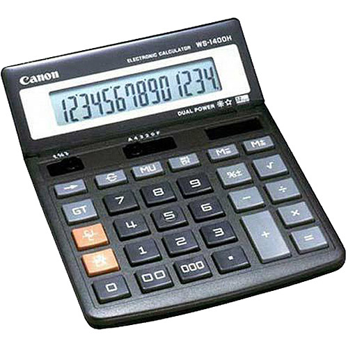 Canon WS1400H Minidesk Calculator