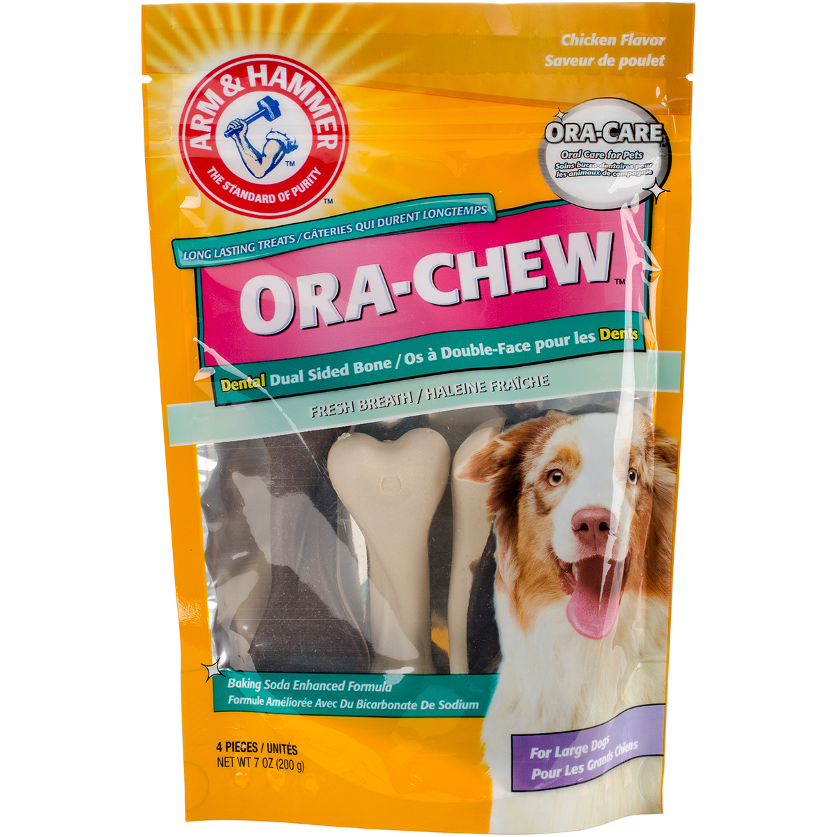 Arm & Hammer Dual-Sided Chew Treat-Large Dog