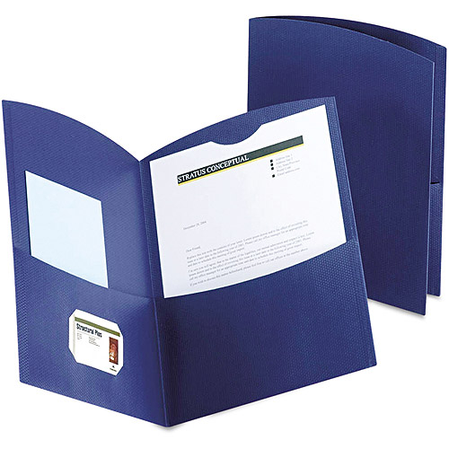 Oxford Contour Two-Pocket Folder, 150-Sheet Capacity