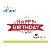 Applebee's Birthday $15 Gift Card (Email Delivery)