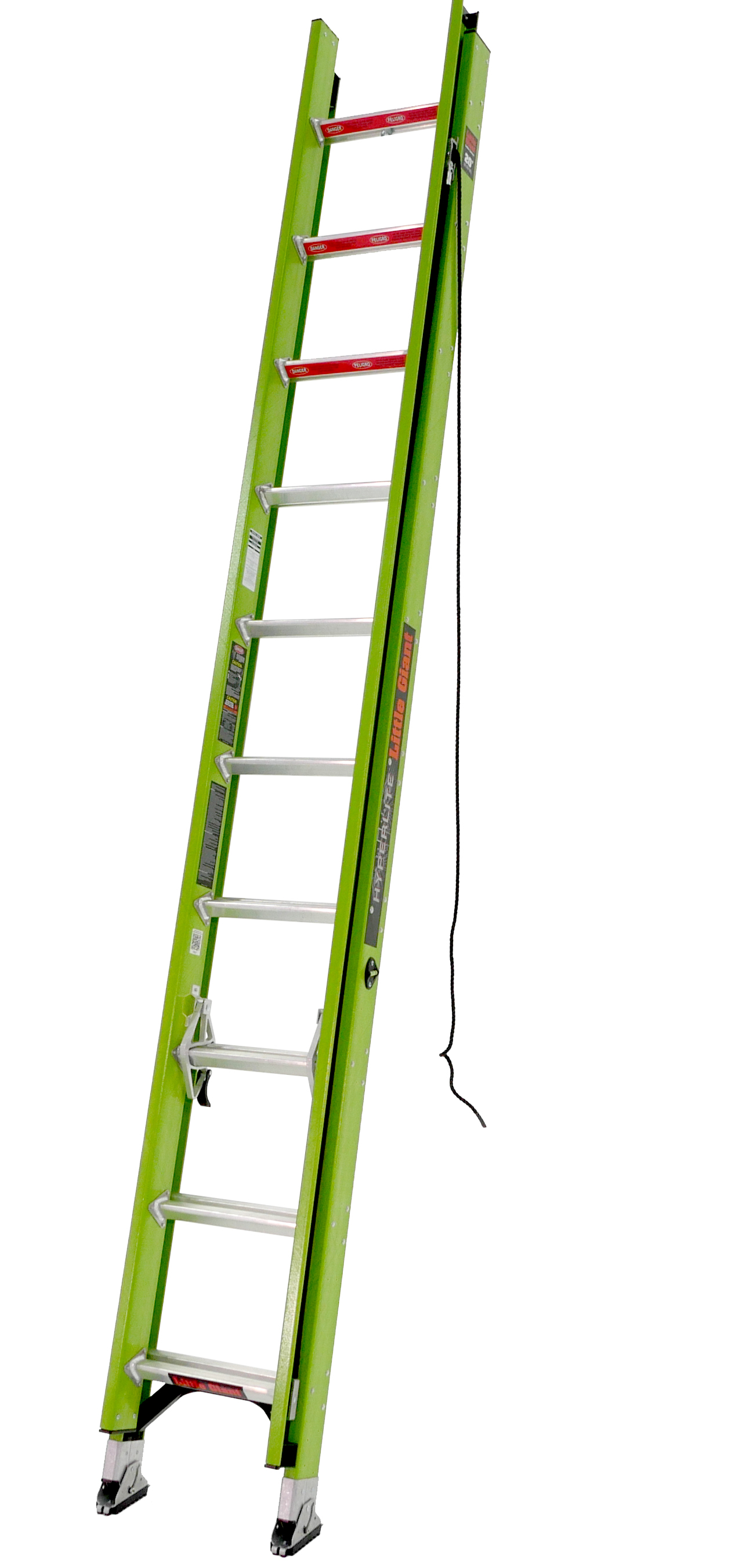 Little Giant HyperLite, 16' Type IA 300 lbs rated, fiberglass extension ladder by Wing Enterprises, Inc.