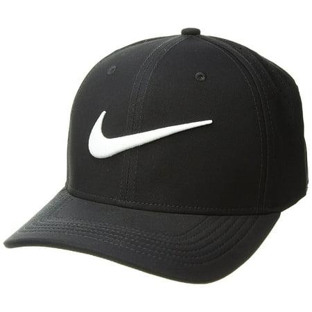 Trainer Womens Cap - NIKE Vapor Classic 99 SF Training Hat Black/White Size Medium/Large
