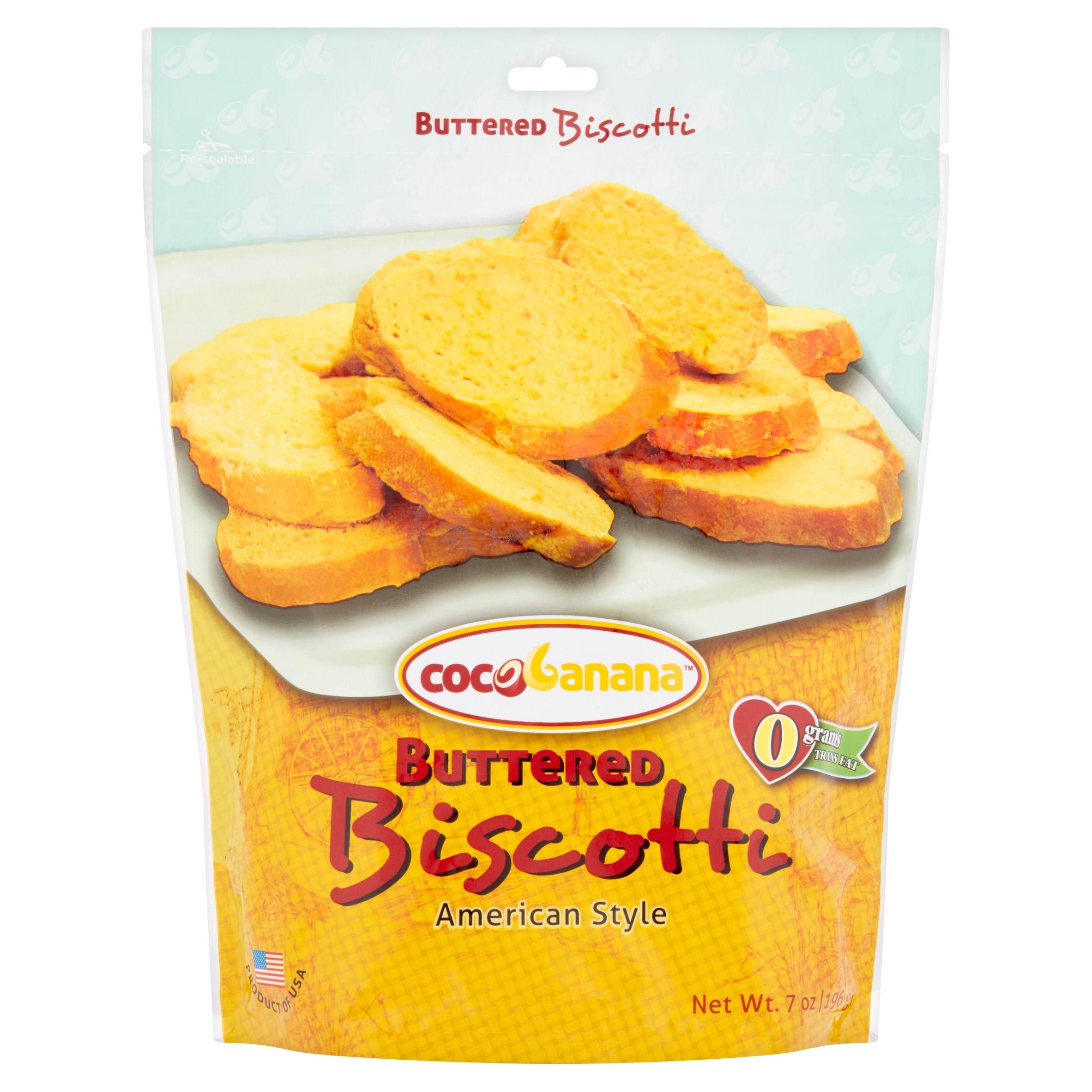Cocobanana Buttered Biscotti, 7 oz by GCOC