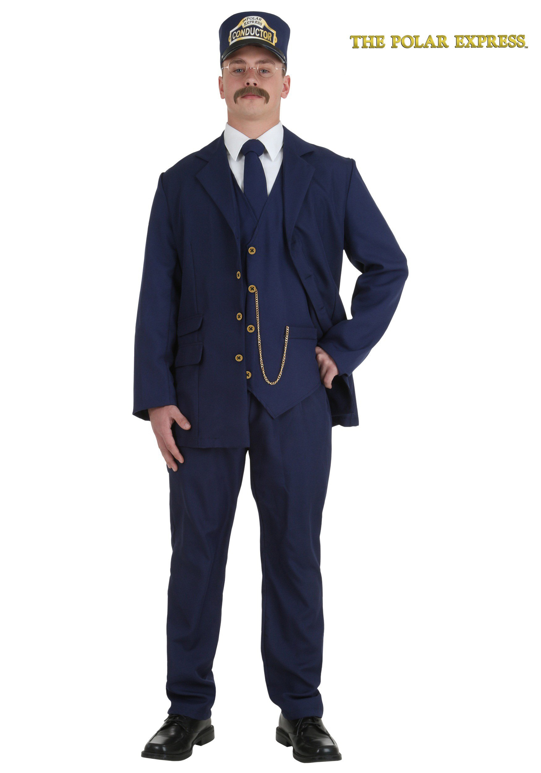 sc 1 st  Walmart & Adult Polar Express Conductor Costume - Walmart.com