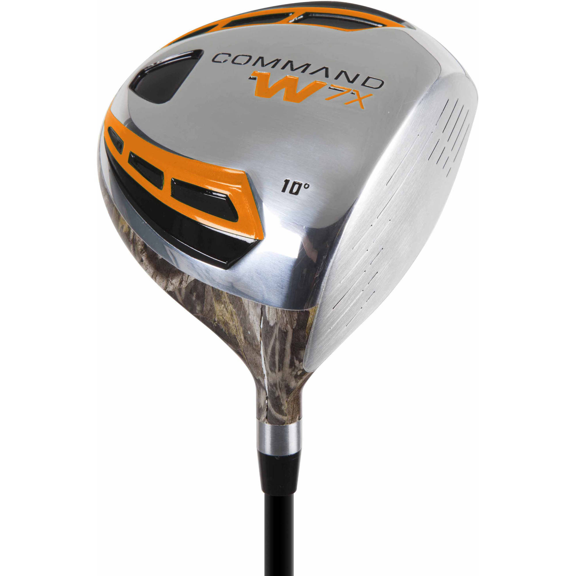 Command W7X Men's Camo Driver, Right Hand, Graphite, Regular