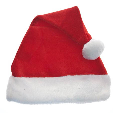Christmas Hats.Classic Red Santa Hat