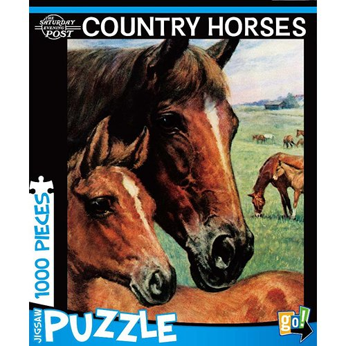 Country Horses 1000 Piece Puzzle