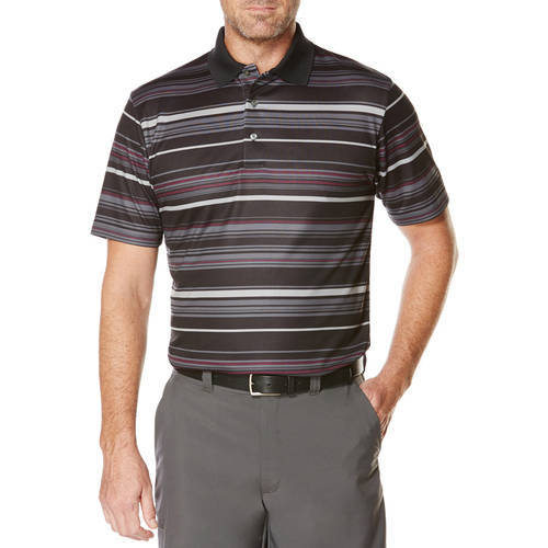 Ben Hogan Performance Men's Ventilated Stripe Golf Polo Shirt