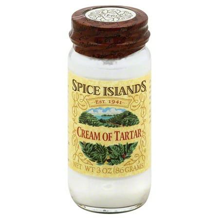 Spice Islands® Cream of Tartar 3 oz. Jar (Substitute For Cream Of Tartar In Frosting)