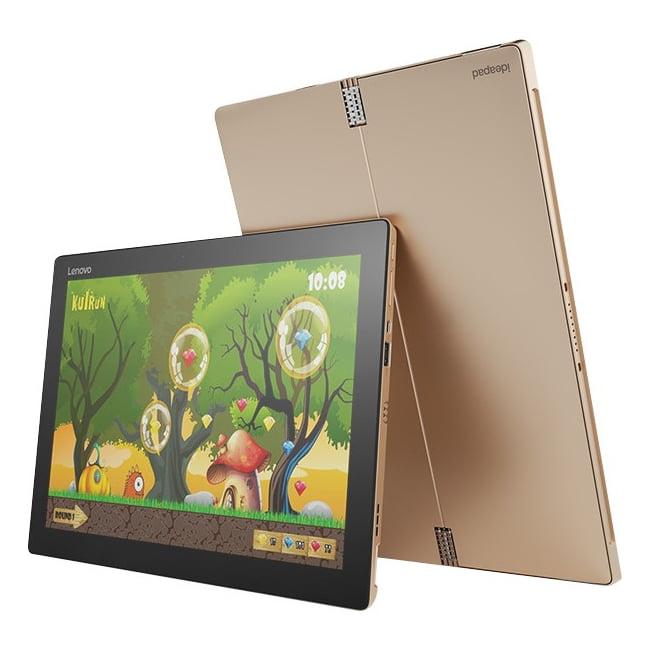 "Lenovo Ideapad Miix 700-12isk 80ql0000us Tablet Pc - 12"" - Wireless Lan - Intel Core M M3-6y30 Dual-core [2 Core] 900 Mhz - Golden - 4 Gb Lpddr3 Ram - 64 Gb Ssd - Windows 10 Pro - Slate - 2160 X 1440"
