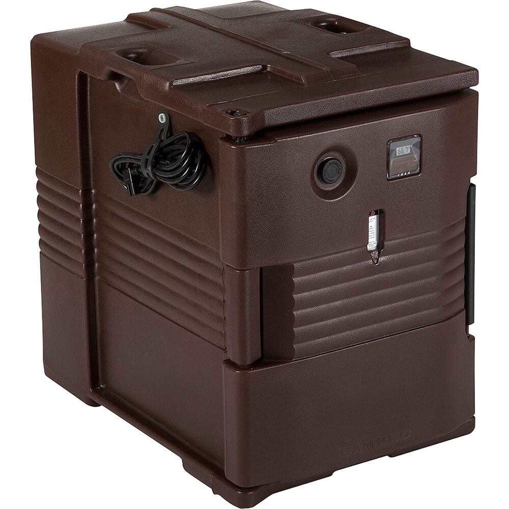 Cambro H-Series Electric Hot Box, Food Carrier, 110V, Dark Brown, UPCH400-131