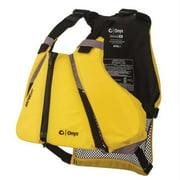 Gilet de sauvetage sport ONYX MoveVent Curve Paddle, jaune, moyen / grand