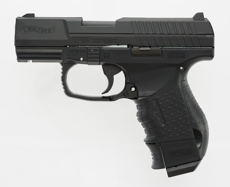 Umarex WALTHER CP99 COMPACT BB GUN BLOWBACK CO2 PISTOL - Walmart com