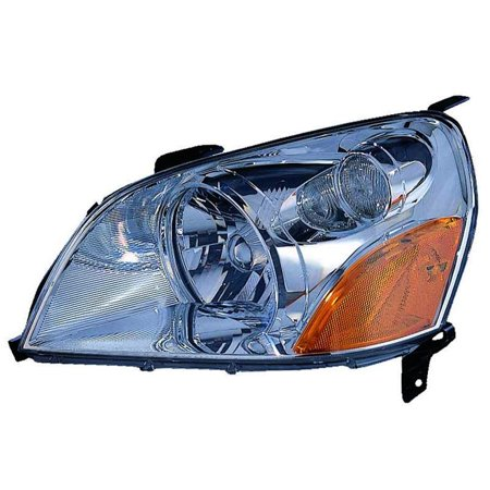 2003-2005 Honda Pilot  Aftermarket Driver Side Front Head Lamp Lens and Housing 33151S9VA01 NSF