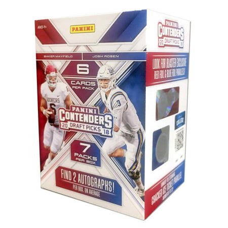 Nhl Trading Card (18 Panini NFL Football Contenders Drafts Value Box Trading Cards )
