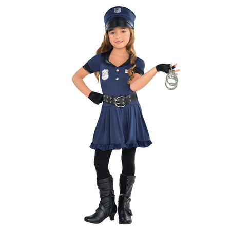 Cop Cutie Costume for Kids - Lady Cop Halloween Costumes