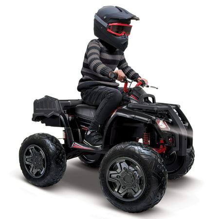 Adult 4 Wheeler (Huffy Torex ATV Kids' 24V 4-Wheeler Electric Ride-On)