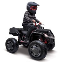 Huffy Torex ATV Kids' 24V 4-Wheeler Electric Ride-On Quad