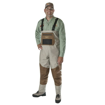 Caddis Men's Deluxe Breathable Stockingfoot Waders XXL Stout ()