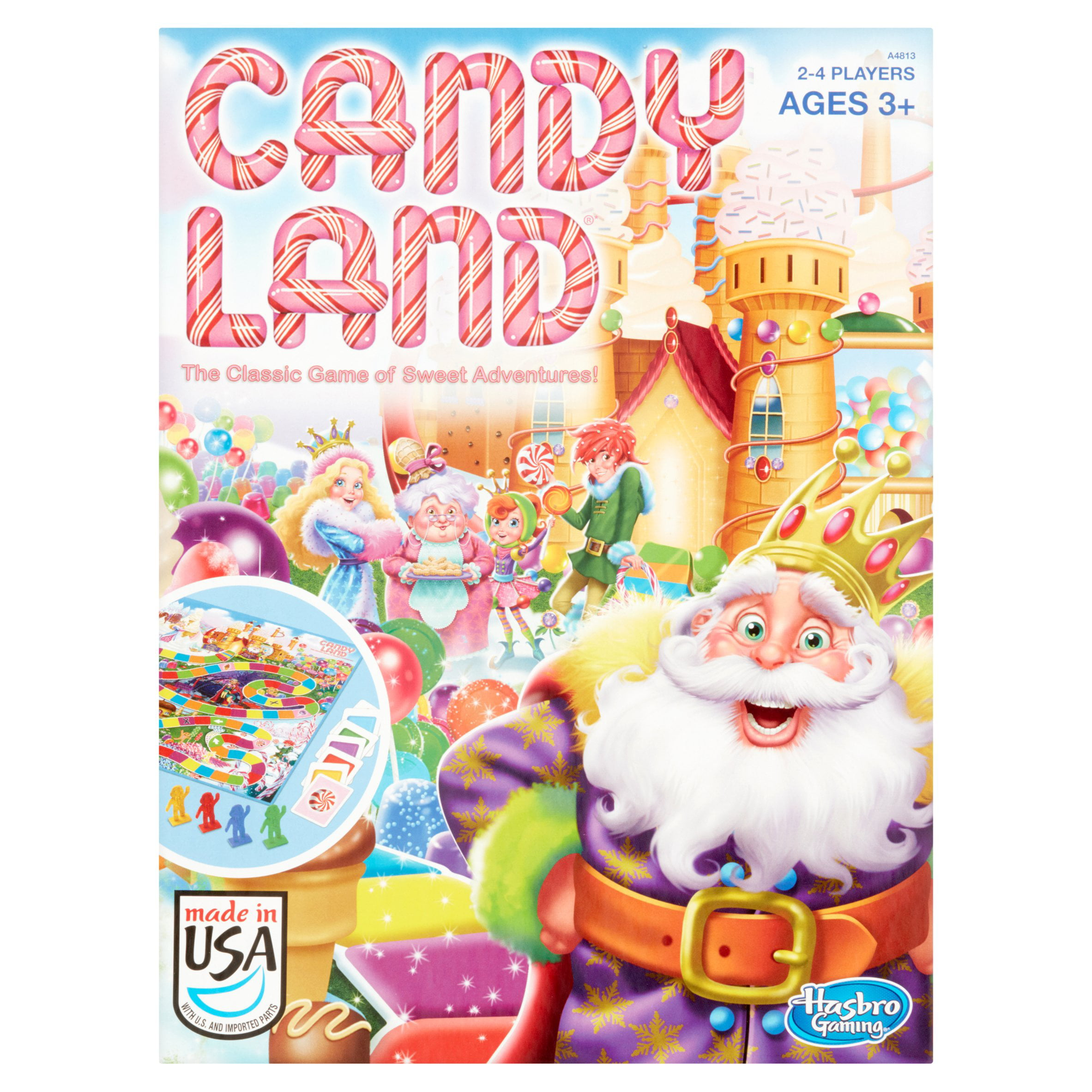 Candy Land Game by Hasbro Canada