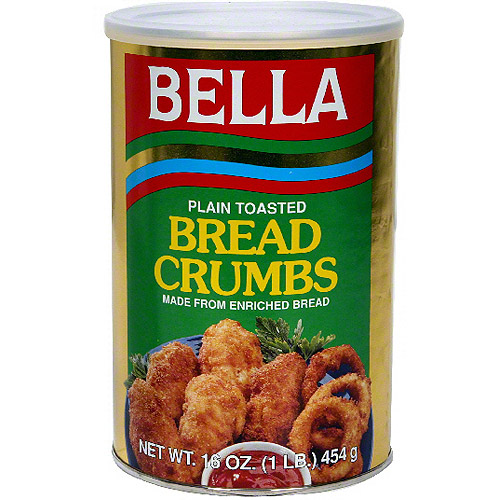 Bella Golden Toasted Bread Crumbs, 16 oz (Pack of 12)