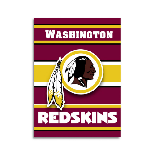 Fremont Die Inc Washington Redskins 2-Sided House Banner House Banner