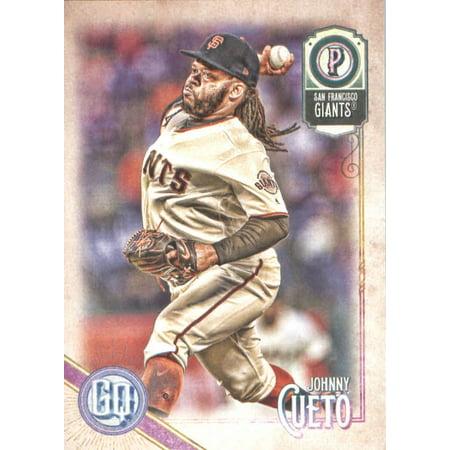 2018 Topps Gypsy Queen #20 Johnny Cueto San Francisco Giants Baseball Card - *GOTBASEBALLCARDS