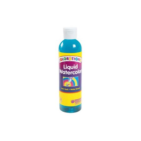 Colorations Liquid Watercolor Paint, Turquoise - 8 oz. (Item #