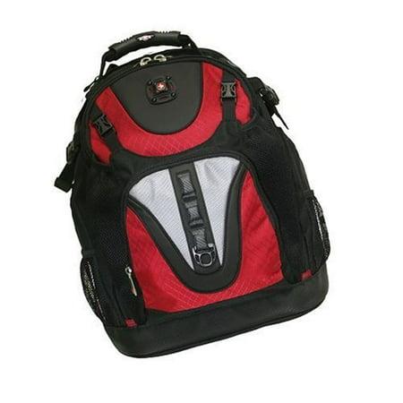 "Swissgear Maxxum Laptop Backpack for 15.4"" Notebooks - Black/Red"