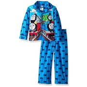 Thomas the Train Toddler Boys' Pajama Long Sleeve Buttons Down Coat and Lounge Pants Set, Track Team, Size: 2T
