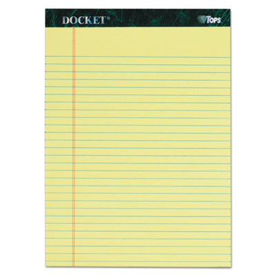 Docket Ruled Perforated Pads TOP63406