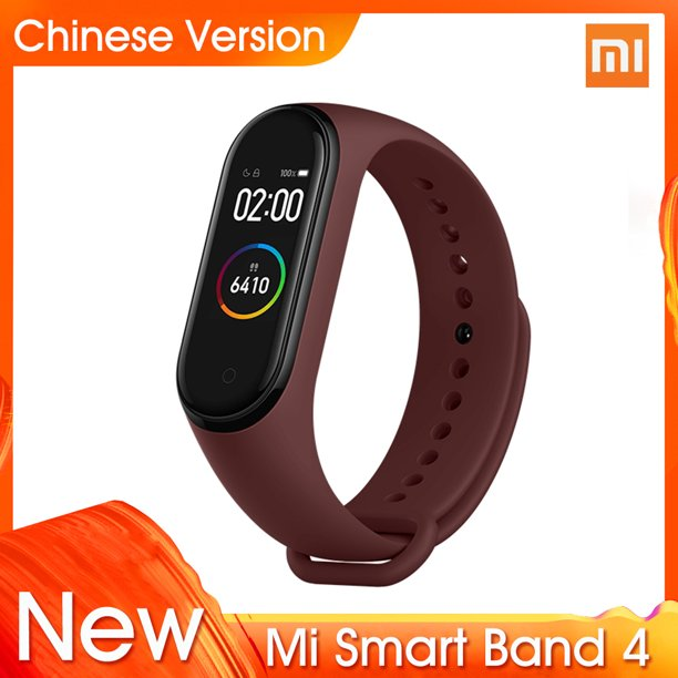 "2019 Xiaomi Mi Band 4 Newest Music Smart Bracelet Heart Rate Fitness 0.95"" Color AMOLED Screen BT 5.0 135mAh Wristband"