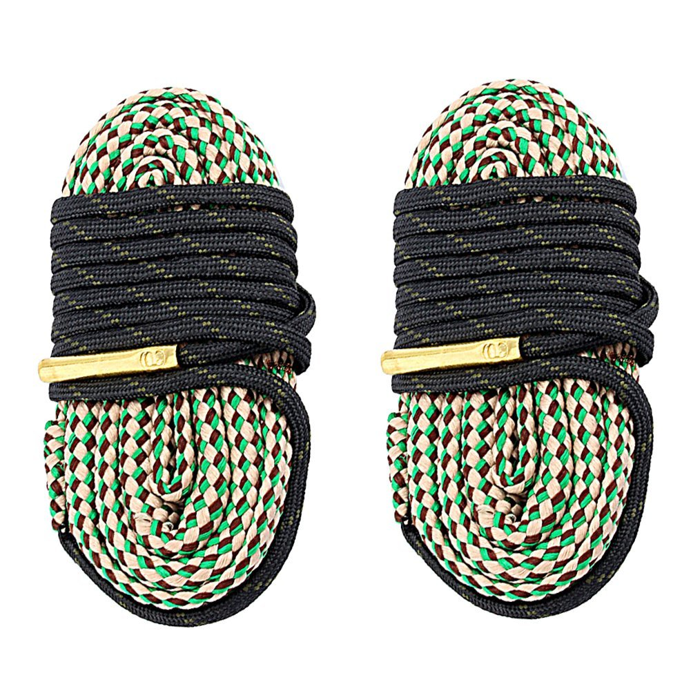 2-Pack Bore Cleaner Snake  Rifle Shotgun Gun Cleaning Kit Strap 30CAL 7.62mm (Pack of 2)